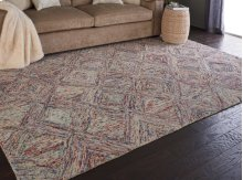 Interlock Itl01 Multicolor Rectangle Rug 8' X 10'6''