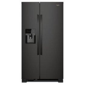 Whirlpool® 36-inch Wide Side-by-Side Refrigerator - 25 cu. ft. - Black