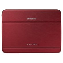 "Galaxy Tab 3 10.1"" Book Cover, Red"
