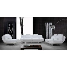 Divani Casa Viper - Modern Bonded Leather Sofa Set