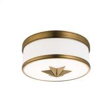 Flush Mount - Aged Brass
