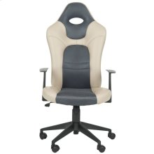 Belinda Desk Chair - Grey