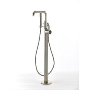 Satin Nickel River (Series 17) Single Supply Floor Tub Filler
