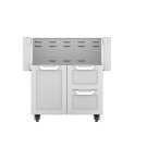 "30""dbl Drawer and Door Cart Product Image"