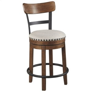 Ashley FurnitureSIGNATURE DESIGN BY ASHLEYUPH Swivel Barstool (1/CN)