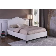 Jamie Flour (Natural) Upholstered Bed Collection