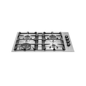 Bertazzoni30 Drop-in low edge cooktop 4-burner Stainless