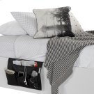 Canvas Bedside Storage Caddy - Black Product Image