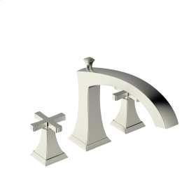 Roman Tub Faucet Leyden (series 14) Satin Nickel (1)