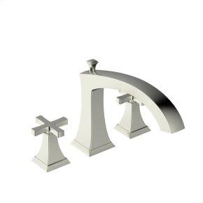 Roman Tub Faucet Leyden (series 14) Satin Nickel (1)