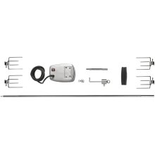 Commercial Grade Rotisserie Kit for Extra Large Grills