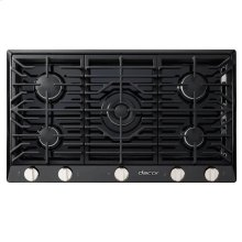 """Renaissance 30"""" Gas Cooktop,, in Black with Natural Gas"""
