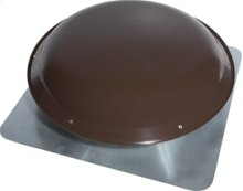 4.0 Amp, Brown, Roof Mounted Powered Attic Ventilator
