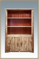 Homestead Bookcase with Storage - Stained and Lacquered Product Image