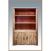 Homestead Bookcase with Storage - Stained and Lacquered