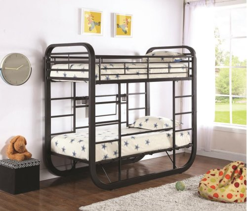 Twin Workstation Bunk Bed