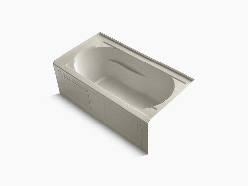 "Sandbar 60"" X 32"" Alcove Bath With Integral Apron, Integral Flange and Right-hand Drain"