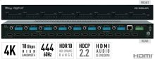 8x8 4K/18G HDMI Matrix Switchers, with Independent Audio Switching, Balanced/Unbalanced Audio, Audio De-embedding of Analog L/R/PCM