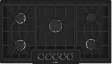 "36"" Gas Cooktop 500 Series - Black NGM5664UC"