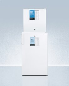 Ff511lpro Auto Defrost All-refrigerator With Digital Controls and Compact Manual Defrost Fs24lpro All-freezer With Stacking Rack, Both With Factory-installed Probe Holes