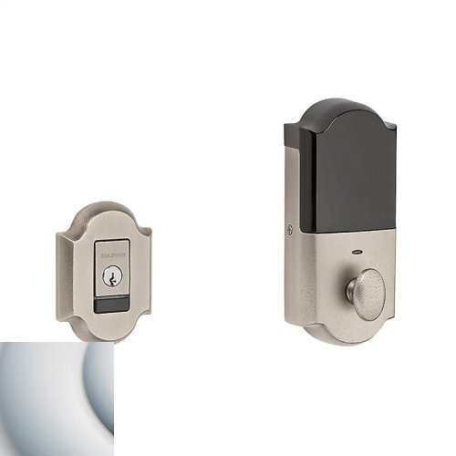 Satin Chrome Evolved Arched Deadbolt