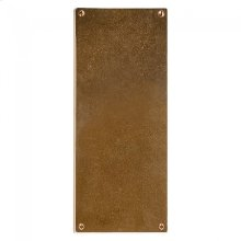 Metro Escutcheon - E290 Silicon Bronze Brushed
