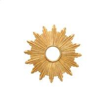 Starburst Mirror - Gold