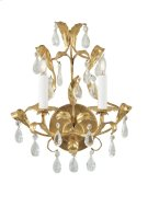 Gold and Crystal Sconce Product Image