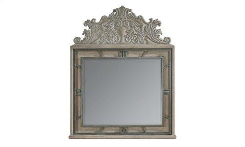 Arch Salvage Benjamin Mirror - Parchment