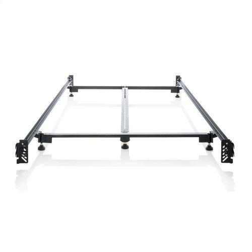 Steelock Adaptable Hook-In Headboard Footboard Bed Frame - Queen
