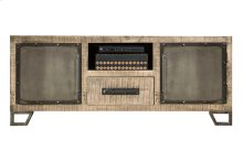 Bridgewater Entertainment Console - Brushed Tan Wood