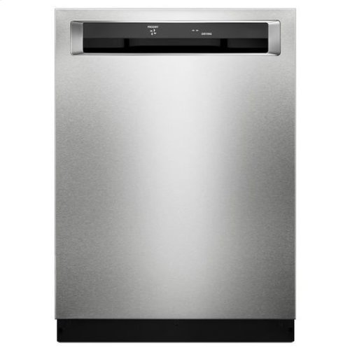 KitchenAid® 39 DBA Dishwasher with Fan-Enabled ProDry™ System and PrintShield™ Finish, Pocket Handle - PrintShield Stainless