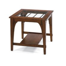 RED HOT BUY! Las Cruces Square End Table