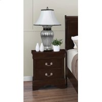 Louis Philippe Two-drawer Nightstand Product Image