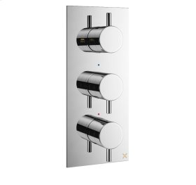 MPRO 3000 Thermo Valve Trim (3 Outlets) - Stainless