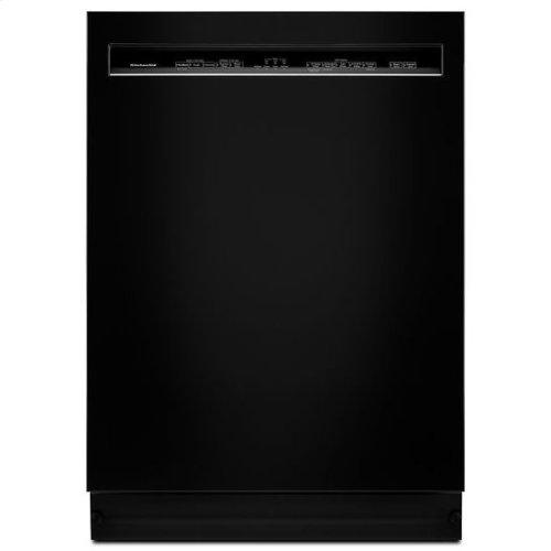 KitchenAid® 46 DBA Dishwasher with ProWash™, Front Control - Black