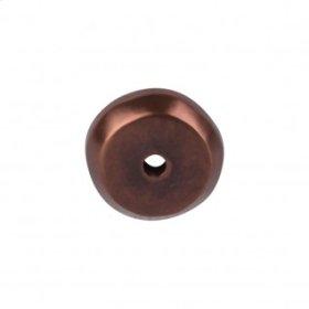 Aspen Round Backplate 7/8 Inch - Mahogany Bronze