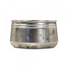 Distressed Metallic Bowl