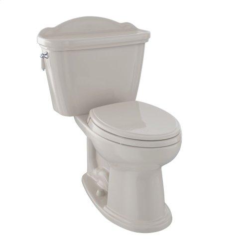 Eco Whitney® Two-Piece Toilet, 1.28 GPF, Elongated Bowl - Bone