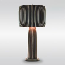 Crimp Table Lamp-Bronze