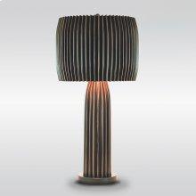 Crimp Table Lamp-Bronze