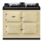 """AGA Dual Control 39"""" Electric/Natural Gas Cream with Stainless Steel trim"""