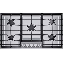 36-Inch Masterpiece® Pedestal Star® Burner Gas Cooktop
