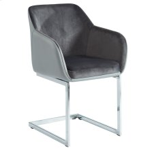 Modena Side Chair, set of 2, in Grey