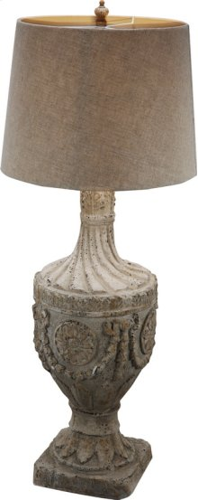 "FD75435  10x10x31"" Final Lamp, Magnesia 1EA/CTN"