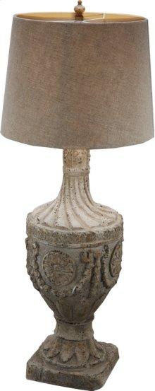 "FD75435  10x10x31"" Final Lamp, Magnesia 1EA/CTN"