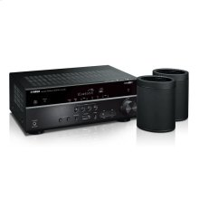 MusicCast RX-V485 Bundle - Black 5.1-Channel AV Receiver with MusicCast