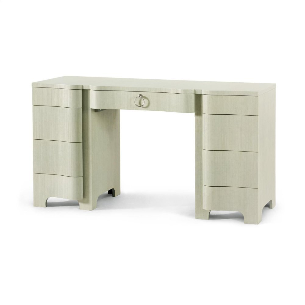 Bouquet Desk, Celadon Green