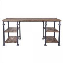 Armen Living Liam Industrial Desk