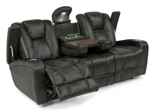 Trinidad Fabric Power Reclining Sofa